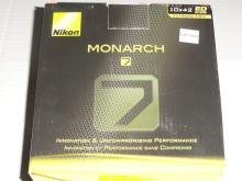 NIKON MONARCH 7 BINOCULARS. NIB