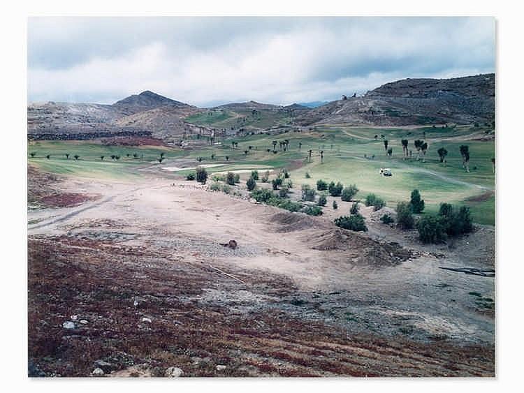 Andreas Gefeller (b. 1970), Golf Course, Gran Canaria, 2000