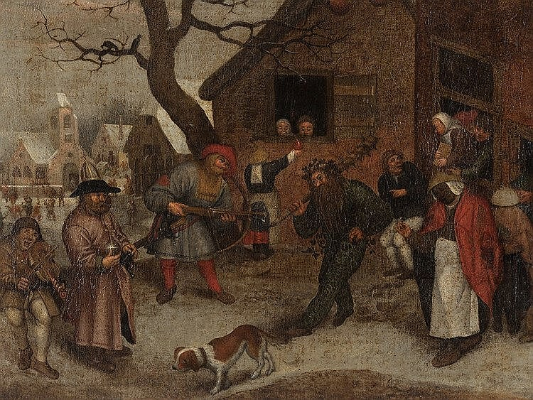 Pieter I Brueghel, Follower, The Wild Man, 2nd H. 16th C.