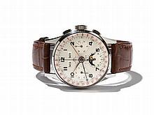 Capt&Co.; Men's Chronograph, Switzerland, Around 1950