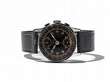 Civitas Wristwatch Chronograph, Switzerland, Around 1945