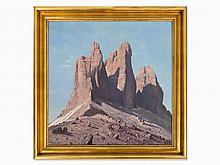 Tony Haller (1907-1944), Dolomites - Tre Cime, c. 1930