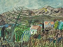 Werner Gilles (1894-1961), Landscape in Ischia, c. 1950