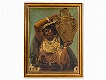 Hermann Katsch (1853-1924), Painting, Tunisian Woman, 1885