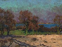 Elisabeth von Eicken, Autumn Landscape at the Baltic Sea, 1925