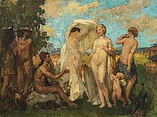 Paul Michel Dupuy (1869-1949), The Judgment of Paris, c. 1900