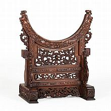 Bi Disc Stand, China, Qing Dynasty, 18th Century