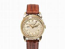 Movado Calendar Wristwatch, Switzerland, c. 1940