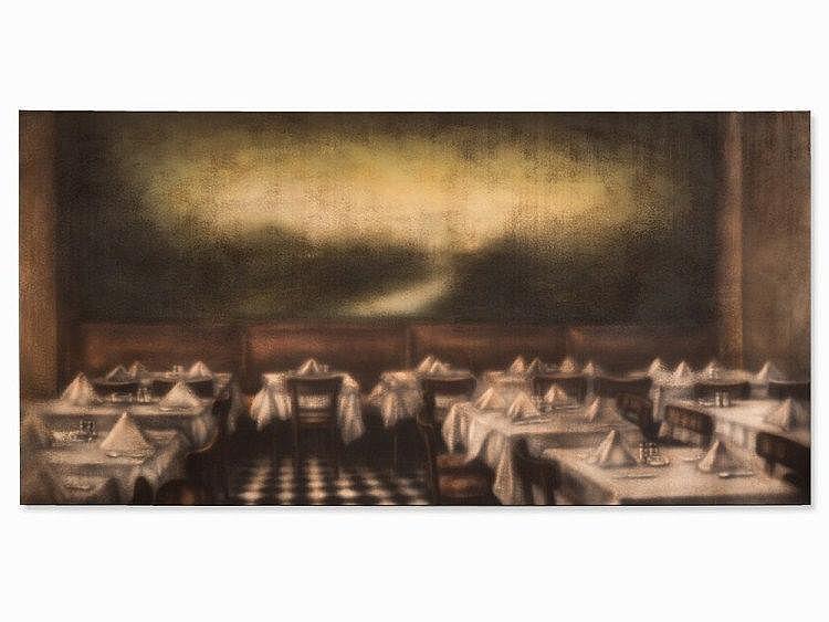Nikolai Makarov (b. 1952), 'Makarov-Kippenberger Paris Bar'