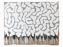 JonOne (born 1963), Painting 'Water Entry Impact ', Paris, 2006