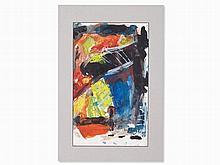 Wolfgang Hollegha (b. 1929), Mixed Media, Abstract, around 1990
