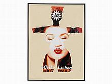 Al Hansen, Collage 'Geil Lieben Venus', Germany, 1992