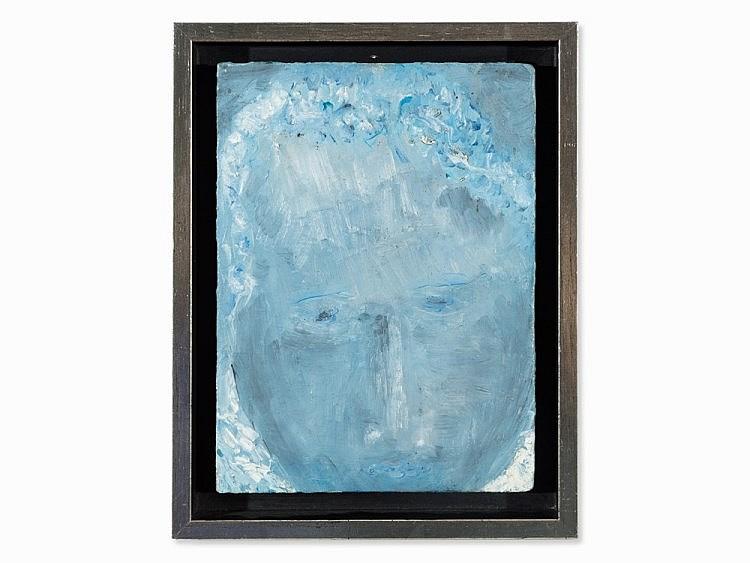 Orhon Mübin (1914-1981), Visage, Painting, 1955