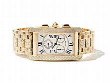 Cartier Tank Americaine Diamond Men's Watch, Around 2010