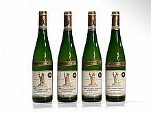 4 bottles 1988 Vereinigte Hospitien Riesling Auslese, Mosel
