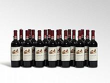 18 bottles 1997 Fontodi Chianti Classico, Tuscany
