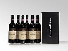 6 bottles of 1995 Castello di Ama Vigneto La Casuccia, Tuscany
