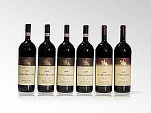 6 magnum bottles 2006 Castello di Ama from different locations