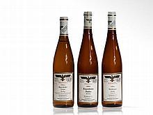 3 bottles of Riesling Kabinett auction wine, 1986-1990