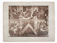 Adolphe Braun, Carbon Print, Sistine Chapel, 1868/69