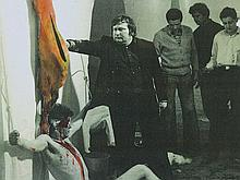 """Photography """"The young Nitsch"""", Padhi Frieberger, around 1960"""