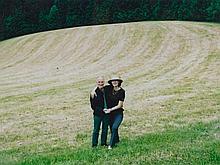 "Photgraphy ""Padhi Frieberger with Matta Wagnest"", around 2000"