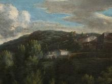 Oil Painting, Italian Landscape, around 1790