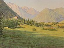 Franz von Matsch (1861-1942), Attributed, Madonna di Campiglio