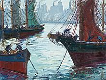 Osvaldo Imperiale, Dia -Gris, Oil Painting, c. 1950/60
