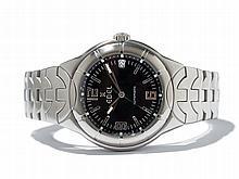 Ebel Type E Wristwatch, Switzerland, Around 2000