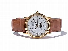 Blancpain Calendar Wristwatch, Switzerland, Around 1990