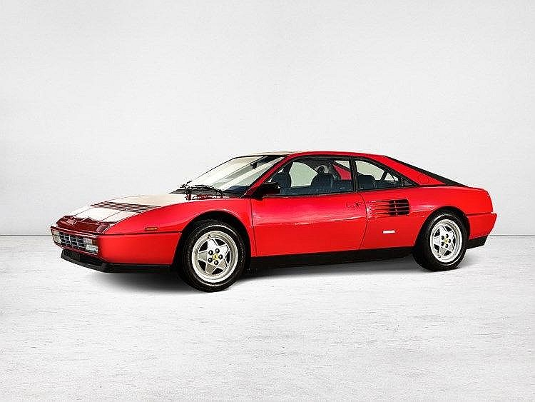ferrari mondial t 3 4 coup model 1989. Black Bedroom Furniture Sets. Home Design Ideas