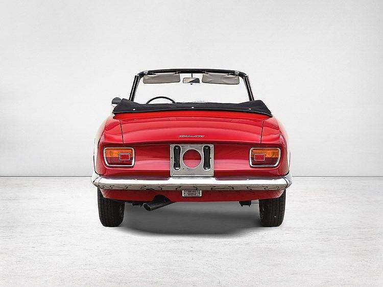 Alfa Romeo Giulia GTC Convertible, Model 1965