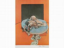 Francis Bacon, Studies of the Human Body: Central Panel, 1980
