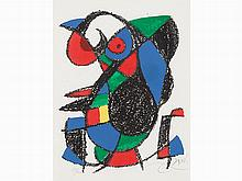 Joan Miró, Untitled, from Lithographe II, 1975
