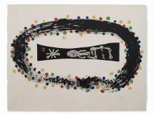 Joan Miró, Nébuleuse, 1958