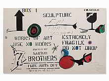 Joan Miró, Emballage, 1975