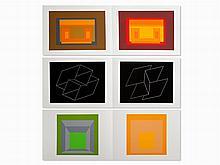 Josef Albers, Formulation: Articulation I & II, 1972