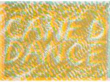 Bruce Nauman, Caned Dance, from Merce Cunningham, 1974