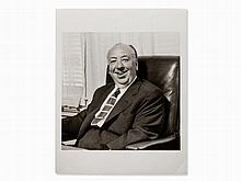 Sid Avery, Alfred Hitchcock in His Office, USA, 1957
