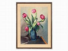 Christian Arnold (1889-1960), Still Life with Tulips, c. 1930
