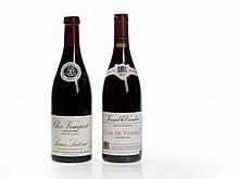 2 bottles 1995 Louis Latour & Joseph Drouhin Clos de Vougeot
