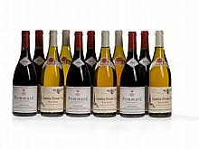 11 bottles of red and white wine from Burgundy, 1999/200