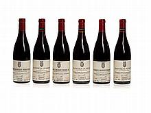 6 bottles Vogüé 1995 Chambolle-Musigny & 1996 Bonnes-Mares