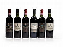 6 bottles Vino Nobile di Montepulciano from 1990, 1993 & 1994