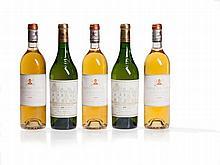 5 bottles 1995 Château Pape Clément & Haut-Brion Blanc