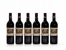 6 bottles 2002 Château Lafite-Rothschild, Pauillac