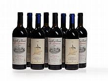 8 bottles 2000 San Guido Guidalberto & Uzzano Il Grevone