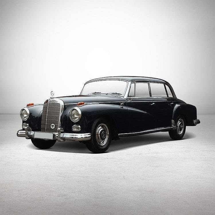 1960 mercedes benz 300d adenauer w189 for Mercedes benz 300d