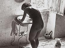 Willy Ronis, Le Nu Provencal, Gordes, 1949